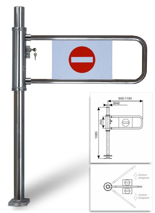 tech-Damix-systemy prowadzenia -Bramka przykasowa-PortaC1-Bako2000
